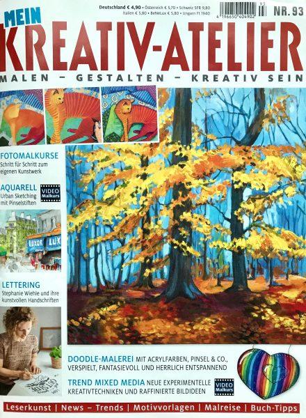 Kreativ-Atelier Nr 93 - Titelblatt