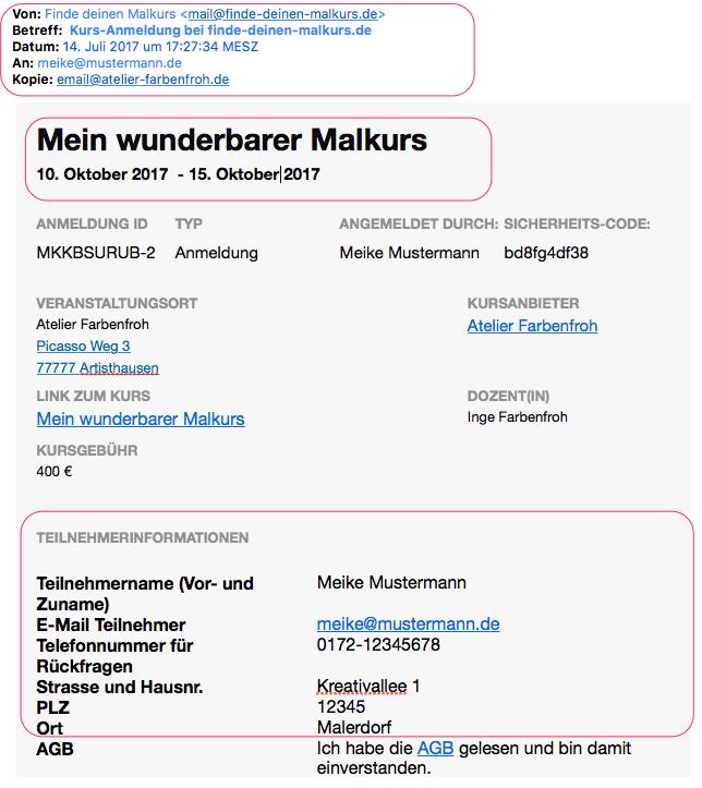 E-Mail Kurs-Anmeldung_bei_finde-deinen-malkurs