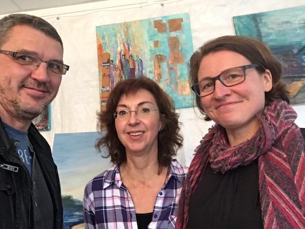 Uwe, Ute und Petra