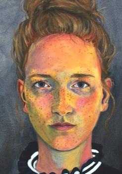 Stephanie Bahrke BLOG Portrait gemalt