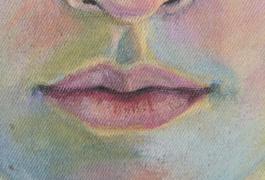 Mund malen - Stephanie Bahrke