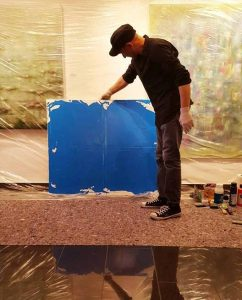 Beshan Abstrakte Malerei 0