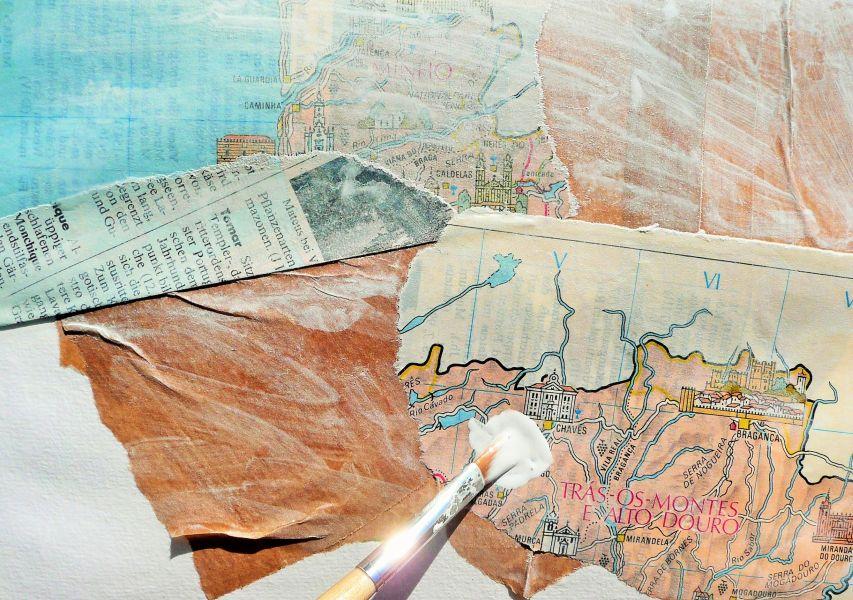 kreativ unterwegs III Foto 6 collage