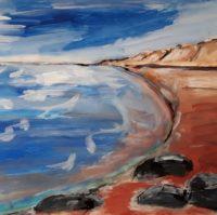 Strand Farbperspektive Ute Zander