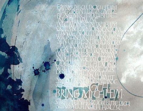 Kalligrafie von Andrea Wunderlich