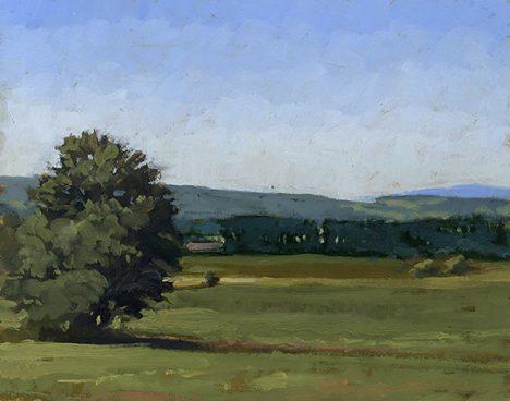 Landschaft gemalt von Colin Callahan