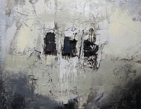 Abstraktes Bild von Peter Feichter