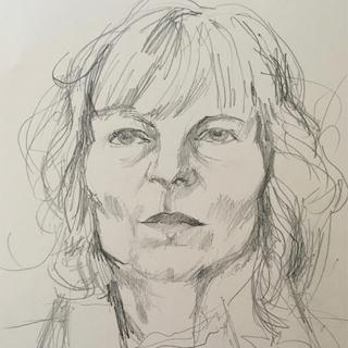 Britta Meins - Selbstportrait