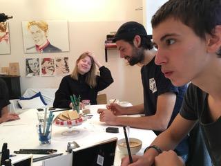 Intuitives Zeichnen Zeichenschüler