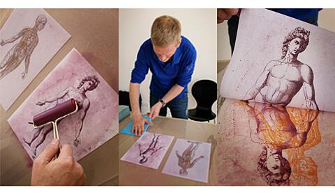 Peter Hinrichs - Transfer Lithografie