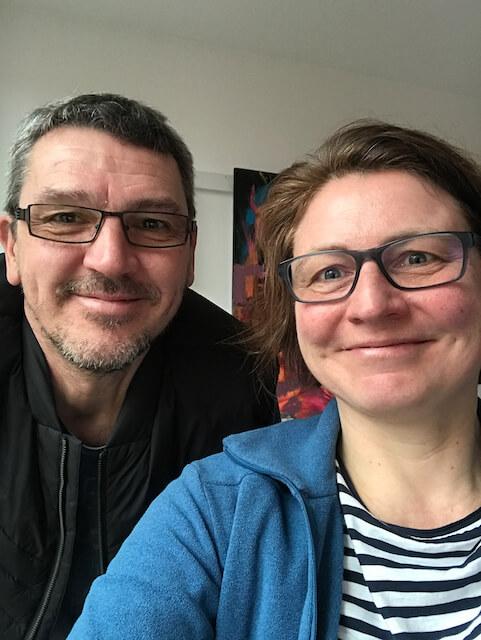 Uwe und Petra, Selfie Januar 2020