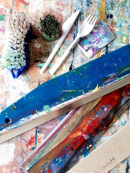 Werkzeuge für die Acrylmalerei